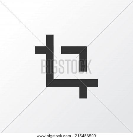 Capture icon symbol. Premium quality isolated center focus element in trendy style.