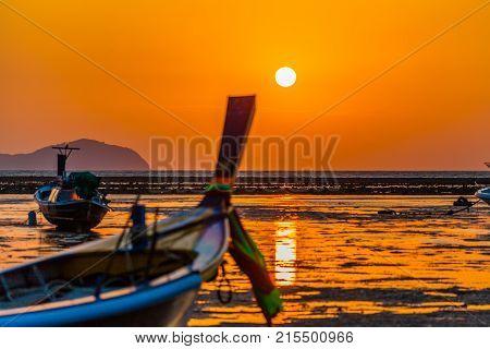 Beautiful Sunrise Above Rawai Sea