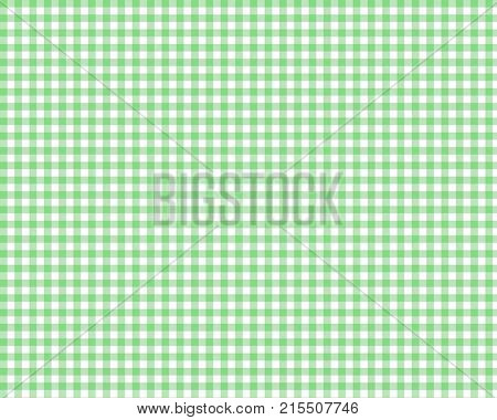 Green gingham background