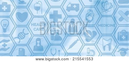 Medical Background, Healthcare Icon Medical Symbol