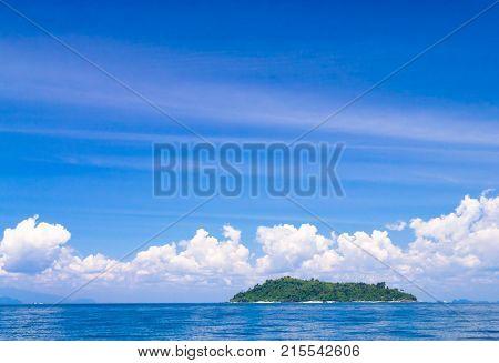 Exotic Getaway Desert Island