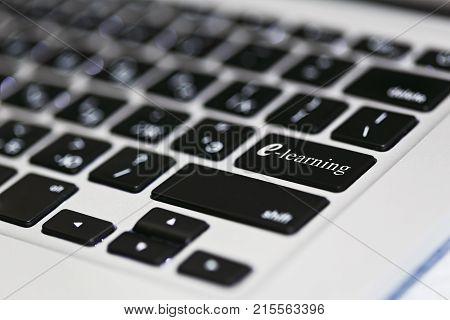 E-learning Remote Education Idea