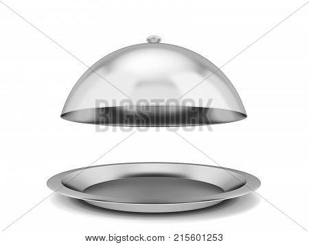 Restaurant Cloche Plate