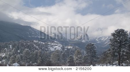 Winter Storm In The Rockies