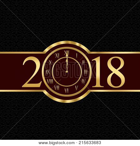 New Year 2013 Concept With Clock