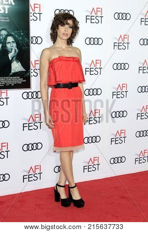 LOS ANGELES - NOV 12:  Alison Brie at the AFI FEST 2017