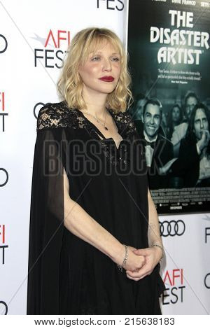 LOS ANGELES - NOV 12:  Courtney Love at the AFI FEST 2017