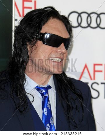 LOS ANGELES - NOV 12:  Tommy Wiseau at the AFI FEST 2017