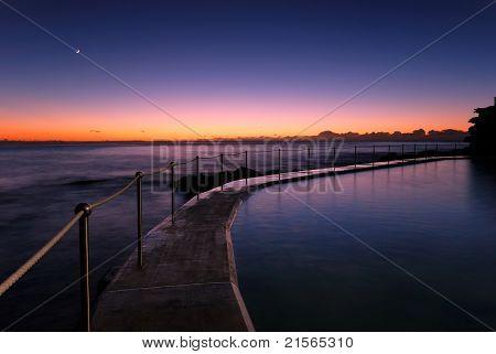 Dawn At Bronte - Sydney Beach