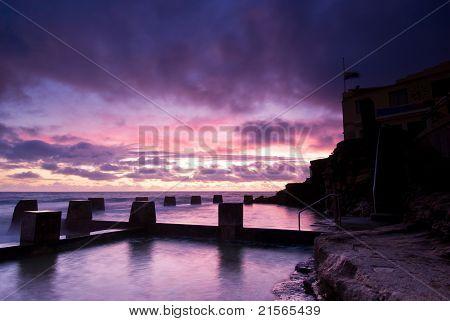 Dawn At Coogee - Sydney Beach