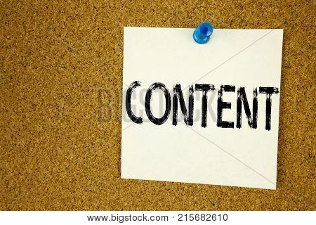 Conceptual Hand Writing Text Caption Inspiration Showing Content. Business Concept For Business To S