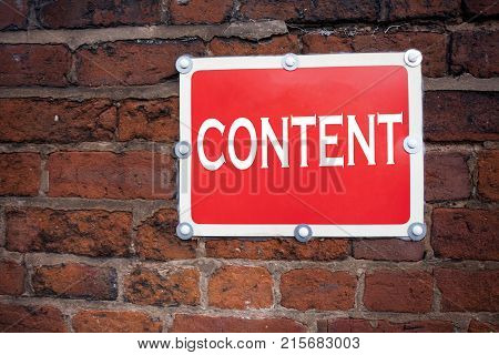 Hand Writing Text Caption Inspiration Showing Content Concept Meaning Business To Success Written On