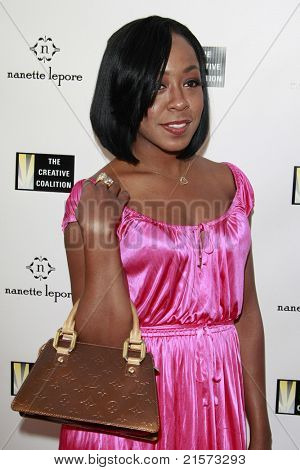 LOS ANGELES - JUN 16: Tichina Arnold at the Creative Coalition's Fashion Votes event at the new Nanette Lepore boutique on Melrose Avenue in Los Angeles, California on June 16, 2008.