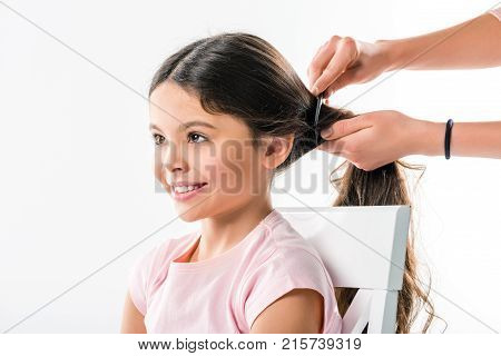 Mother Combing Hair