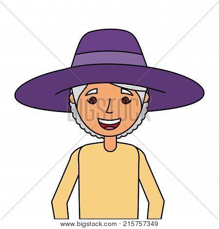 Old Woman Portrait Lady Grandma Cartoon