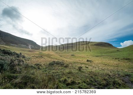 Scenic View Of Pentland Hills, Scotland
