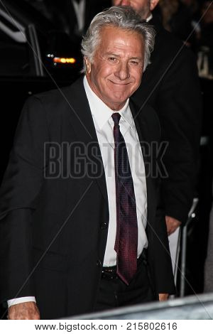 NEW YORK, NY - NOVEMBER 27: Dustin Hoffman attend the 2017 IFP Gotham Awards at Cipriani Wall Street.