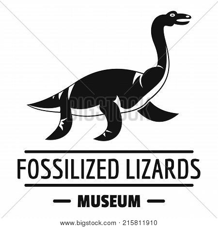 Jurassic museum logo. Simple illustration of jurassic museum vector logo for web