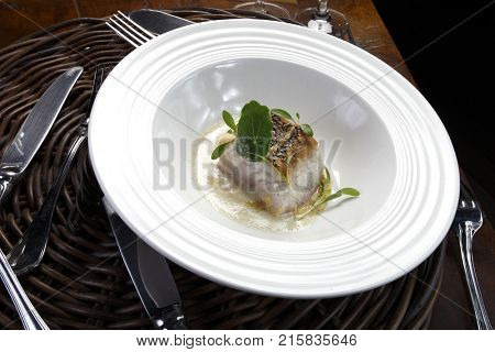 Haute cuisine gastronomic