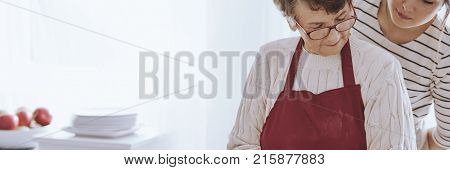 Spending Time With Loving Grandmother