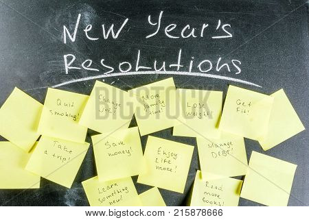 New Years Resolutions Concept