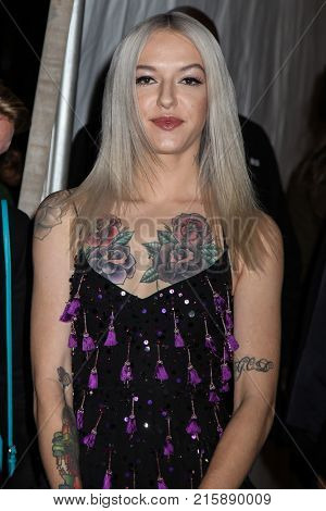 NEW YORK, NY - NOVEMBER 27: Bria Vinaite attends the 2017 IFP Gotham Awards at Cipriani Wall Street.