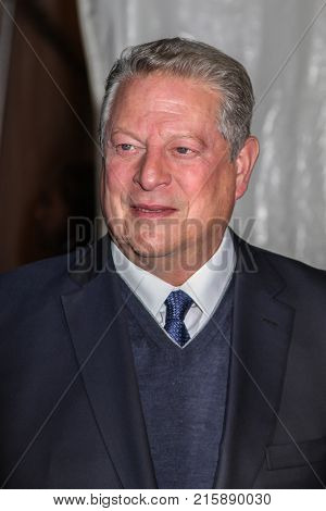 NEW YORK, NY - NOVEMBER 27: Al Gore attends the 2017 IFP Gotham Awards at Cipriani Wall Street on November 27, 2017 in New York City.