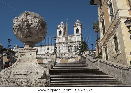 Rome. Piazza Di Spagna