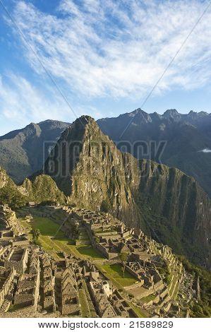 Macchu Picchu Evening
