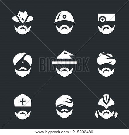 Sheriff, soldier, doctor, yogi, magician, bedouin, bishop, bum, gladiator.