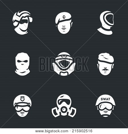 Special forces, paratrooper, diver, spy, sapper, soldier, policeman, chemical troops, swat.