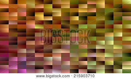 Geometrical mosaic rectangle background - modern vector design from gradient rectangles