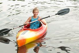 Kayak Girl