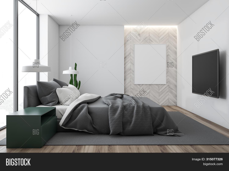 Master Bedroom Tv Image Photo Free Trial Bigstock