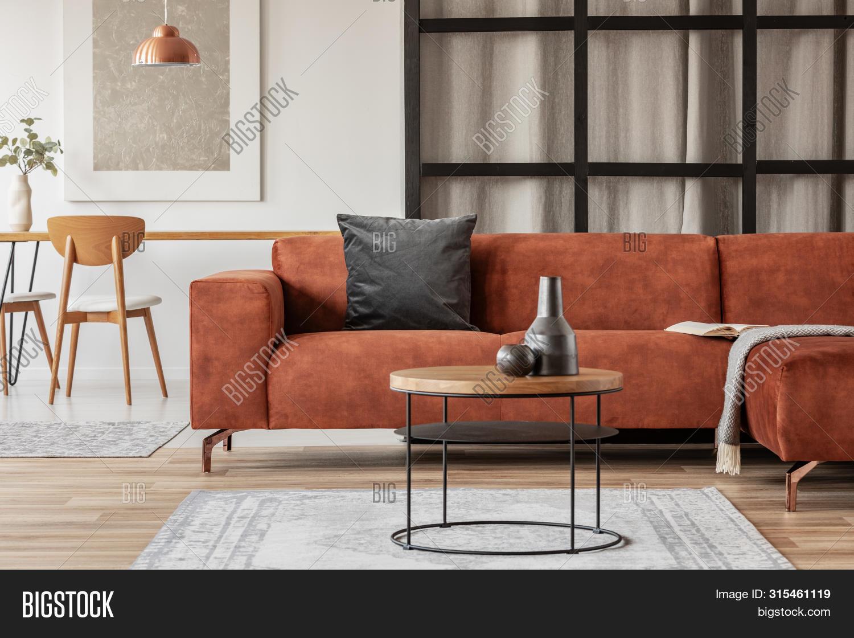 Stylish Corner Sofa Image & Photo (Free Trial) | Bigstock