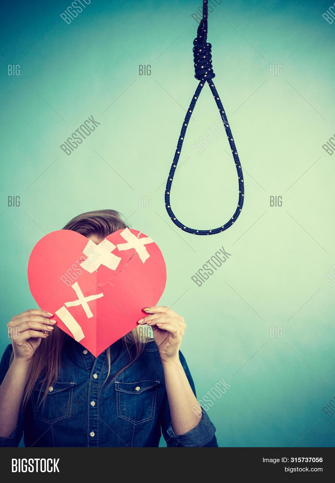 Sad Depressed Woman Image Photo Free Trial Bigstock