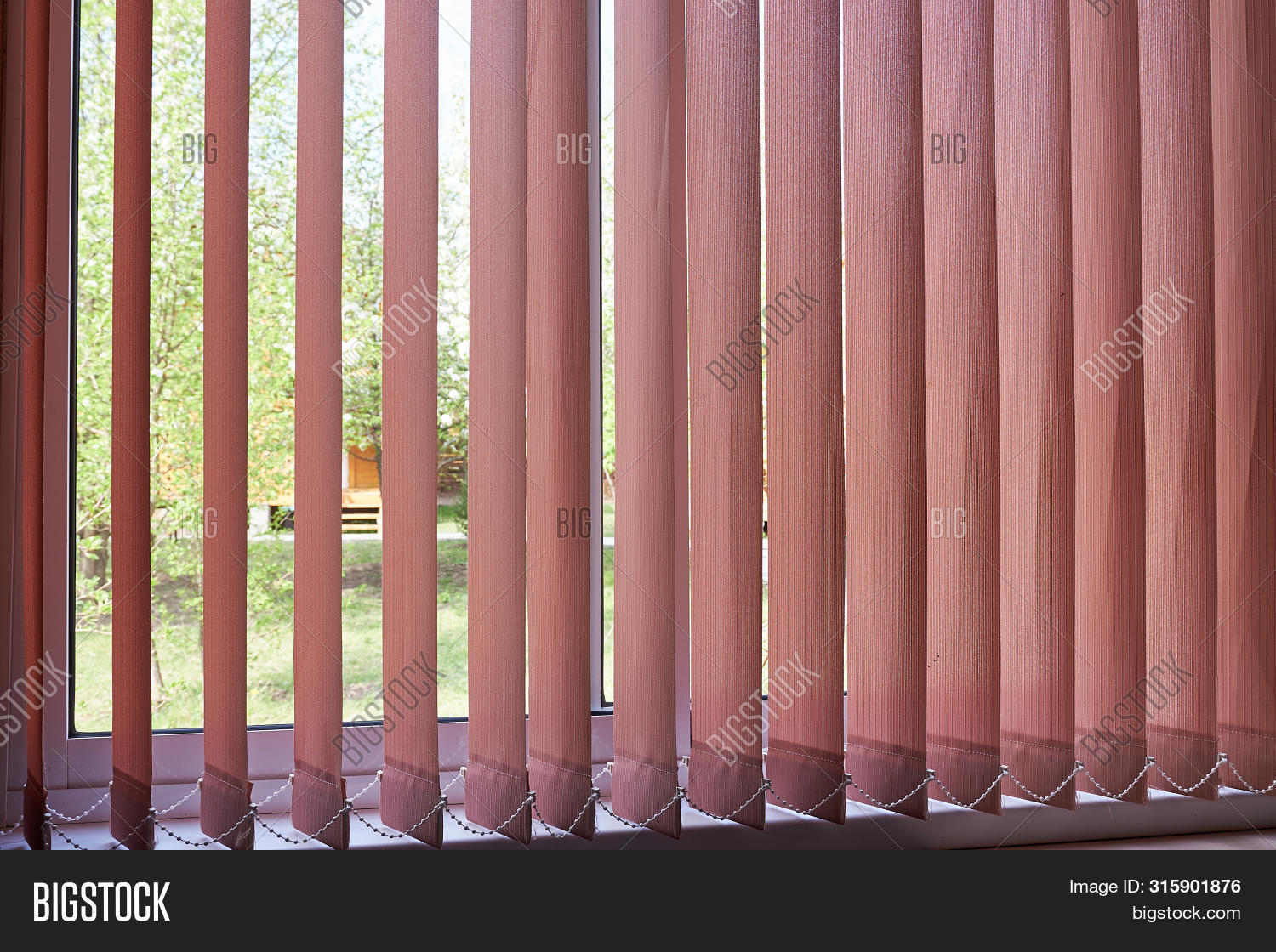 Modern Vertical Blinds Image Photo Free Trial Bigstock