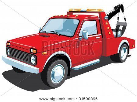 Tow truck, my car design.