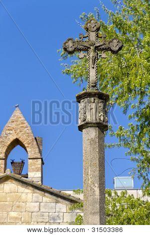 Monastery Of Santa Maria De Poblet Cross