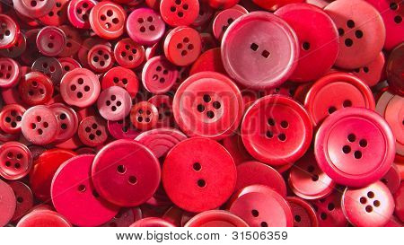Red buttons, small and large