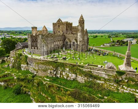 The Rock Of Cashel, Also Known As Cashel Of The Kings And St. Patrick's Rock, A Historic Site Locate