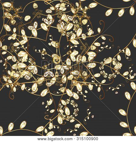 Seamless Decorative Background. Can Be Used For Cards, Invitations, Save The Date Cards And Many Mor