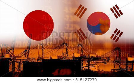 Japan And South Korea Trade War White List Economy Conflict Tax / Japan Rally To Declare A Boycott S
