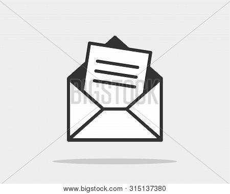 Pleasant Envelope Icons Letter Vector Photo Free Trial Bigstock Pdpeps Interior Chair Design Pdpepsorg