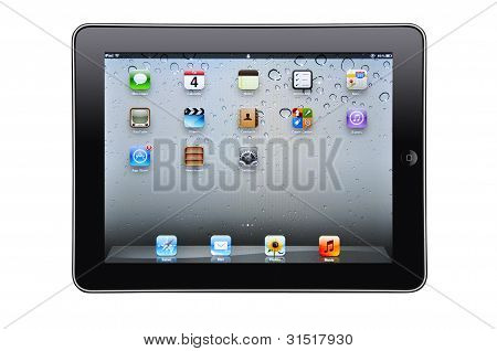 Ipad Isolated
