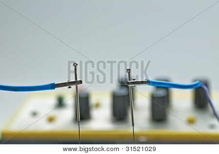 Electric acupuncture device