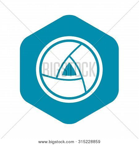Objective Icon. Simple Illustration Of Objective Vector Icon For Web