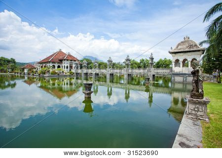 Water Temple In Bali