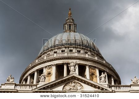 London St. Paul Cathedral Dome