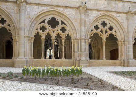 Monastery Of Santa Maria De Poblet Cloister